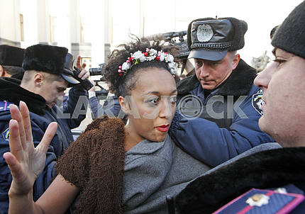 Detention of the FEMEN activists