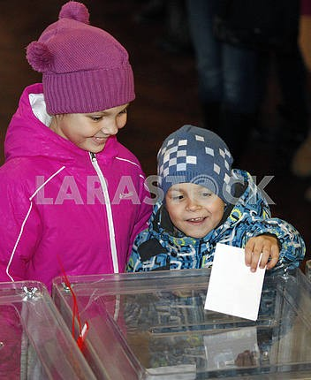 The second round of local elections in Kiev.