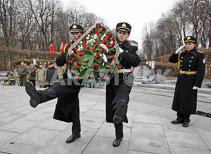 The Day of Marine Corps in Kiev