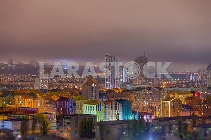 "Kiev, Darnitskiy district, a residential complex ""Comfort Town"""