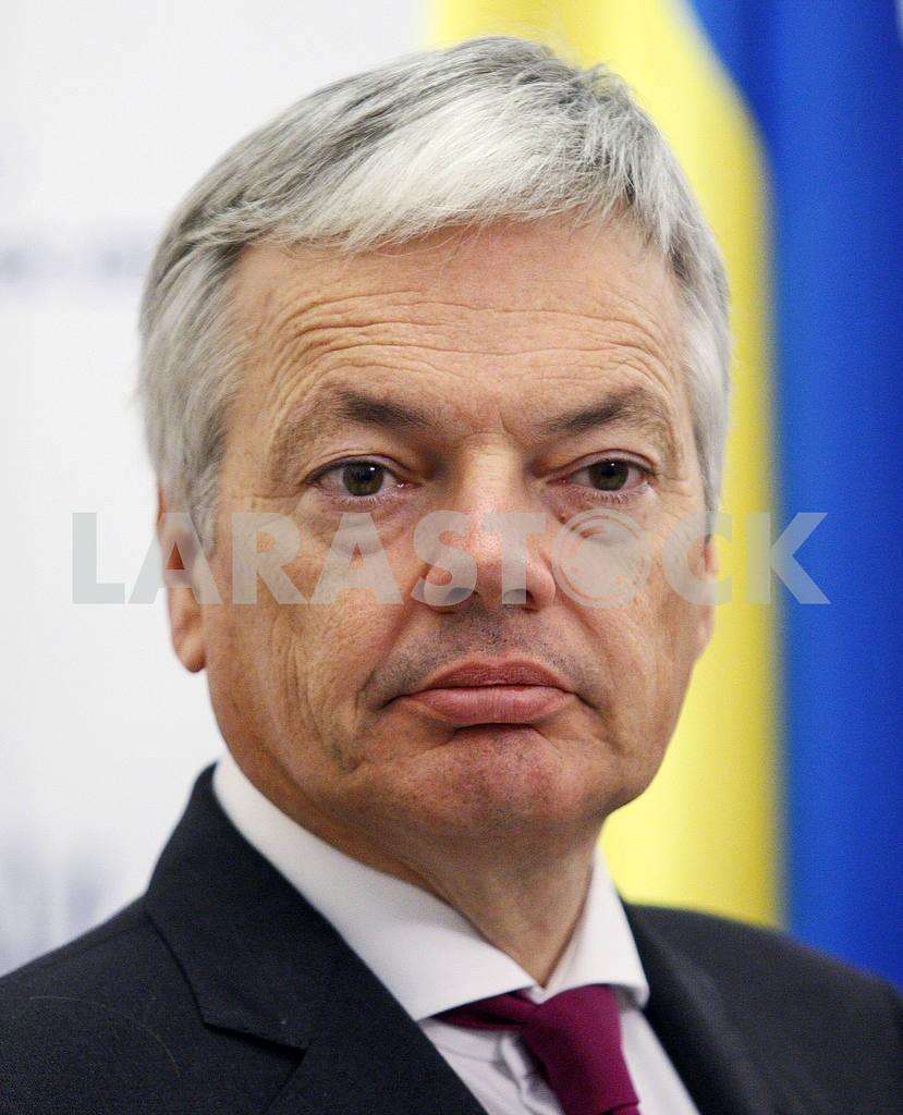 Пресс-конференция министров иностранных дел Украины, Бельгии, Нидерландов и Люксембурга в Киеве. — Изображение 21064