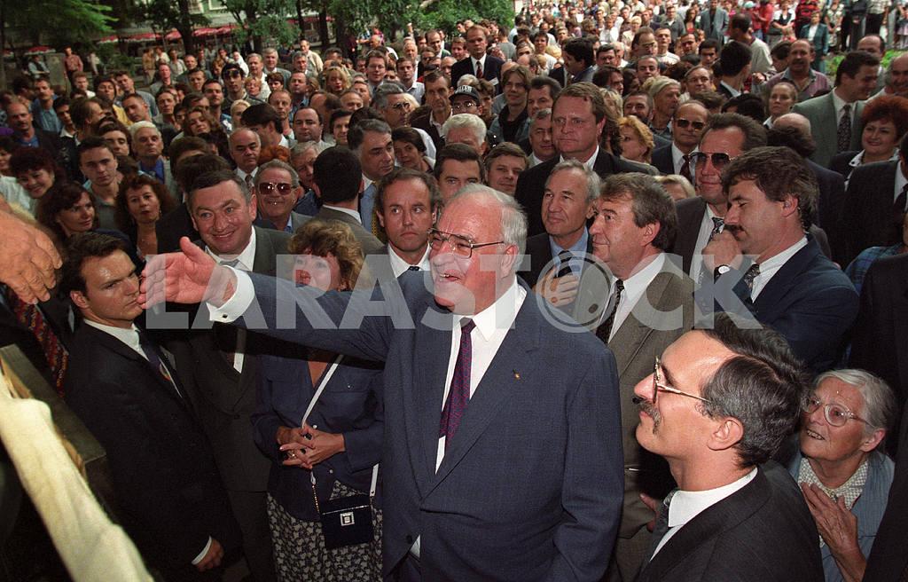 Helmut Kohl in Odessa — Image 21076