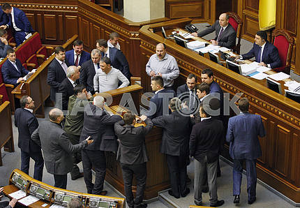 The deputies of the Verkhovna Rada of Ukraine