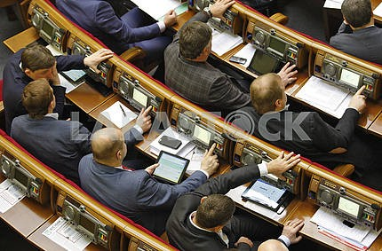 The deputies of the Verkhovna Rada