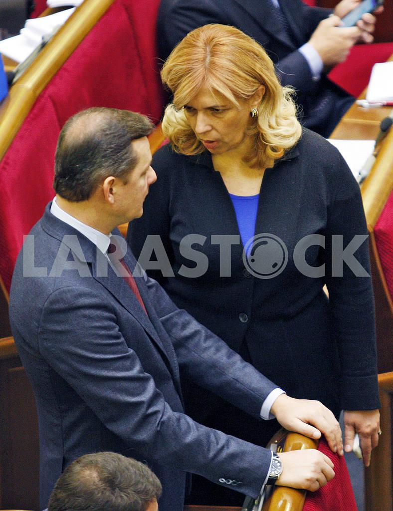 Oleg Lyashko and Olga Bogomolets — Image 21114
