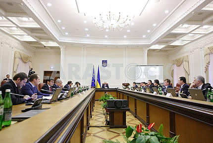 The Cabinet of Ministers meeting.