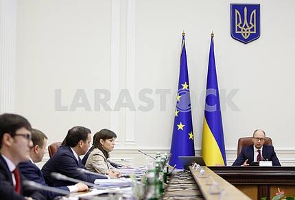 Заседание Кабинета министров Украины.