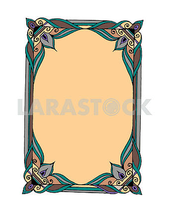 Graphic frame