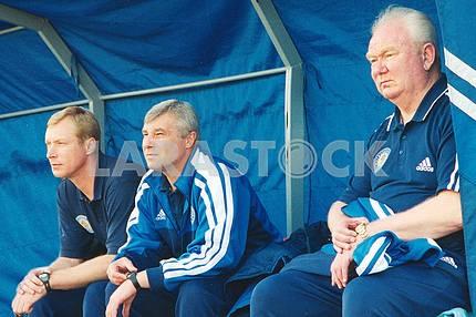 Coach Valery Lobanovsky