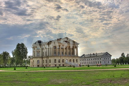 Palace (Villa) the last Zaporozhye hetman Kirill Razumovsky in Baturin