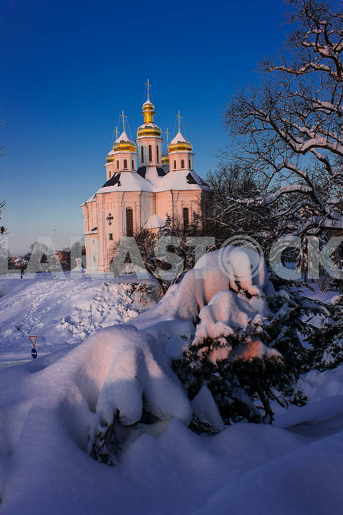 Catherine's church in the snow — Image 21312