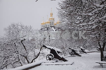 First snow in Chernigov