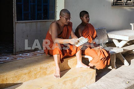 Quarter of Buddhist monks