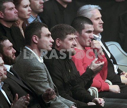 04.12.2010. Ramzan Kadyrov and Vitali Klitschko