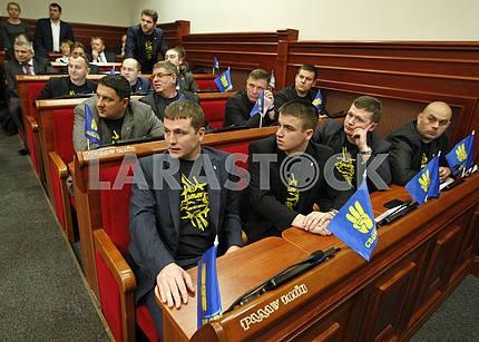 Deputies of the city council.