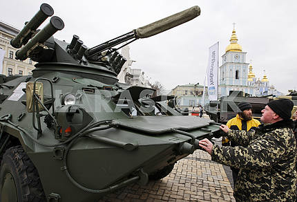 The exhibition to the Day of Armed Forces of Ukraine.