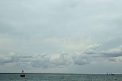 Ships in the Black Sea