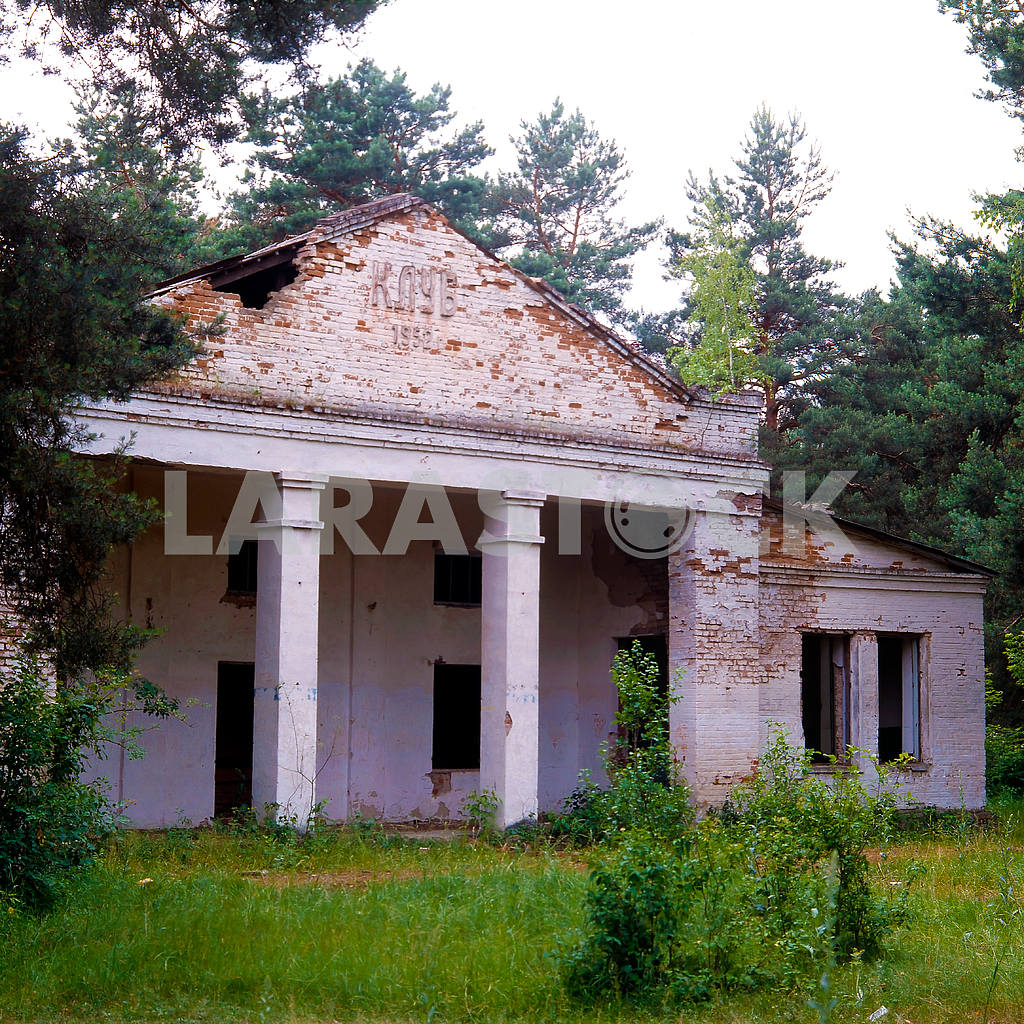 Abandoned house near Chernobyl Culture — Image 21528
