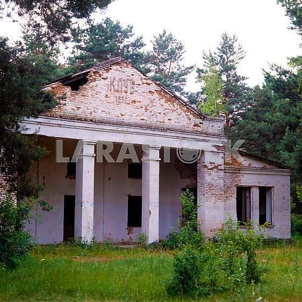 Заброшенный дом культуры под Чернобылем
