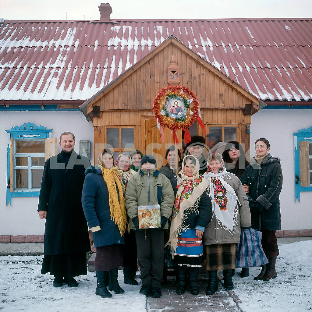 Christmas in the village Zasupoevka — Image 21532
