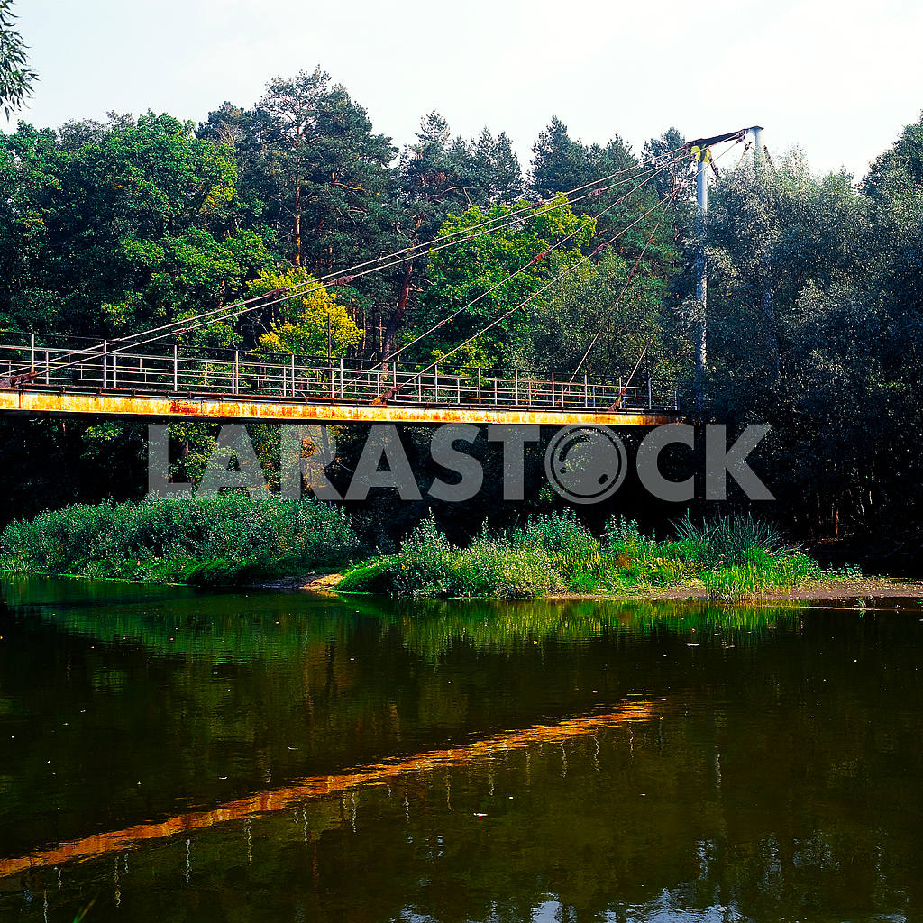 Suspended bridge — Image 21544