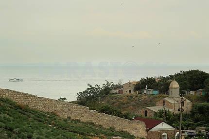 Genoese fortress. Theodosius