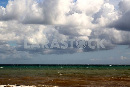 Multi-colored waters of the Black Sea
