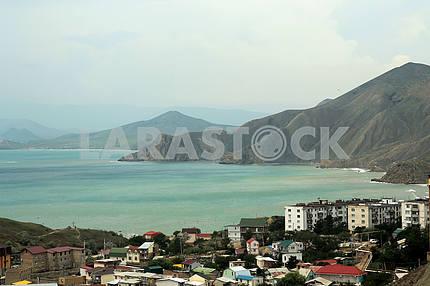 View on Ordzhonikidze. Crimea