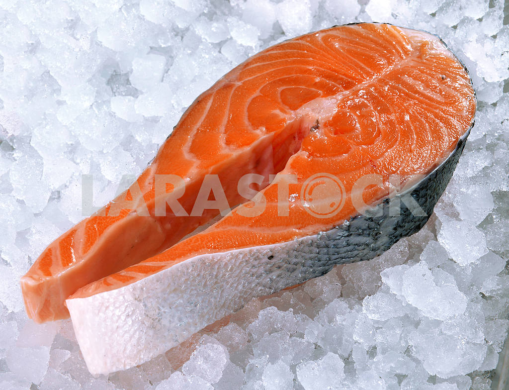 Fresh salmon steak — Image 21714