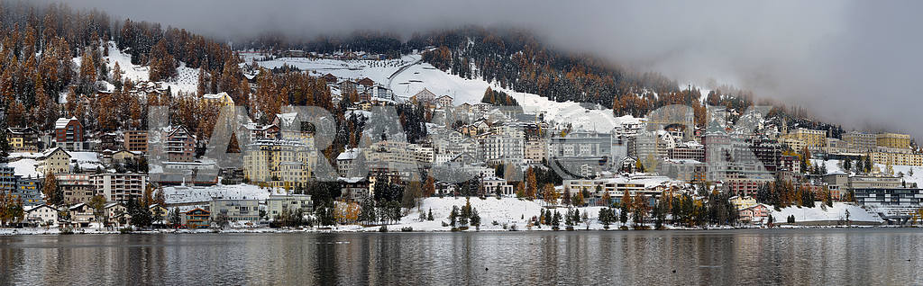 City on the Lake St. Moritz