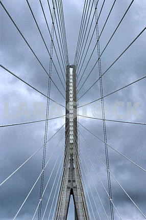 bridge abstract view from below