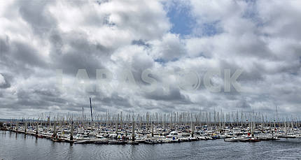FRANCE. BREST-JULY-17, 2012: festival of sailing in the port of