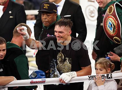 Ukrainian boxer Alexander Usyk