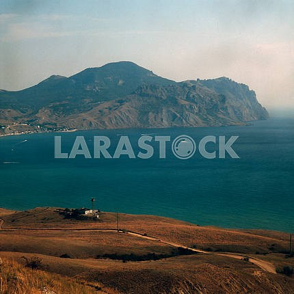 Bay of the Black Sea near the village of Koktebel