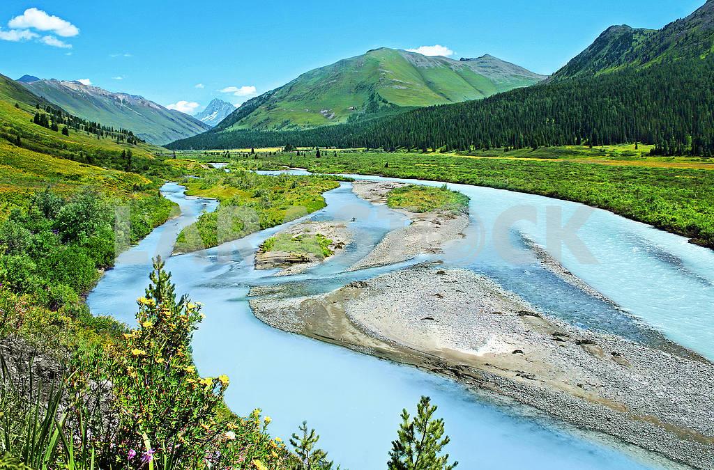 Belovode river Belaya Berel Altai — Image 22