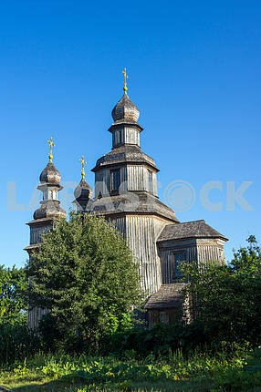 The wooden church of St. George