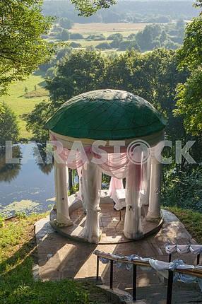 Gazebo overlooking the River of Snov