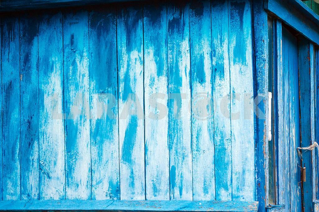 Wooden blue barn — Image 22027