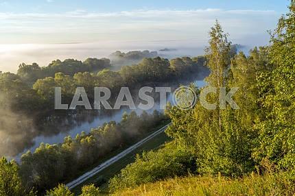 Desna River. Mezin. Chernihiv region