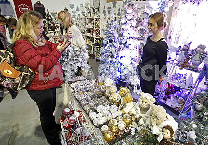 "Festival ""Christmas arsenal"" in Kiev."