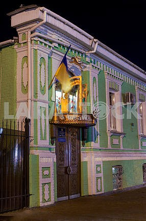 Puppet theater in the city of Cherkassy