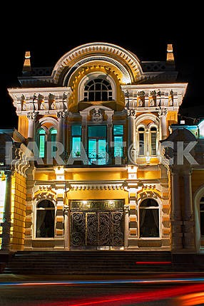Entrance to the Wedding Palace in Cherkassy