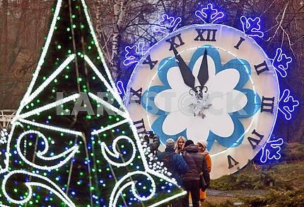 Фестиваль Зимняя сказка в Киеве
