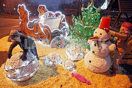 Winter's Tale Festival in Kiev.