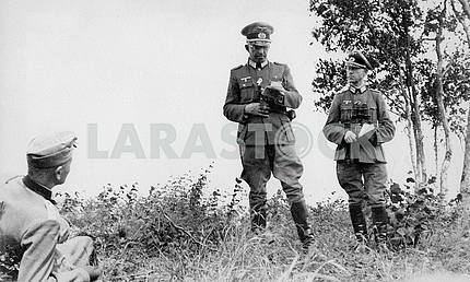 Немецкий офицер пехоты