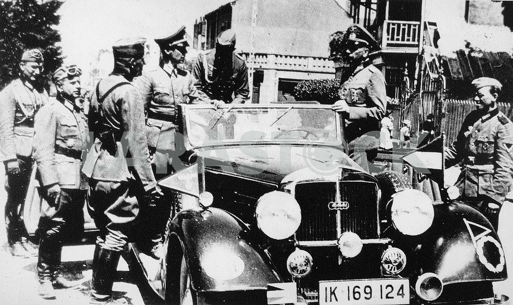 German general with car — Image 22236