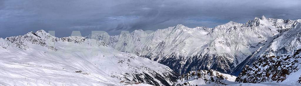 Panorama of the Alps — Image 2226