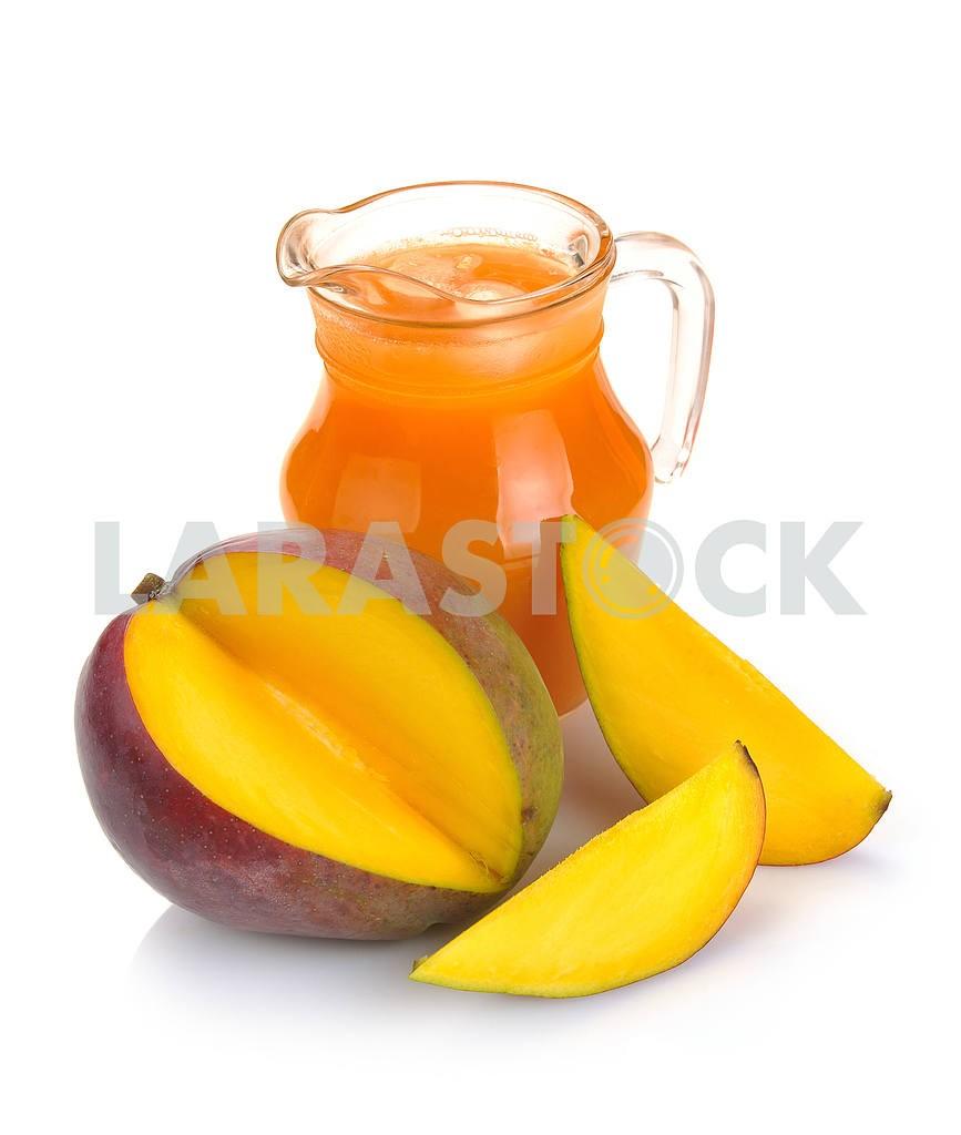 Mango juice and fruit — Image 2258