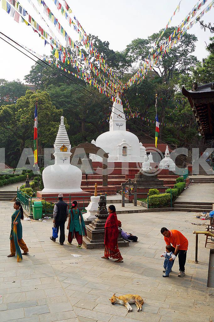 Swayambhunath Stupa, Nepal, Kathmandu — Image 22699