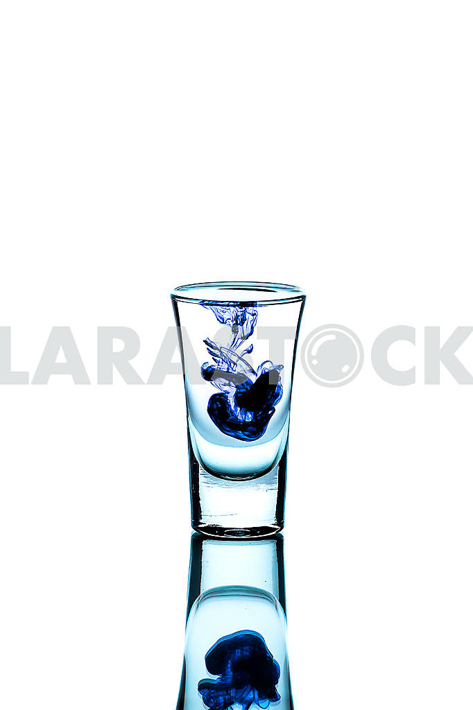 Glass wineglass It stands on the background Glass wineglass It stands on the white background — Image 22777